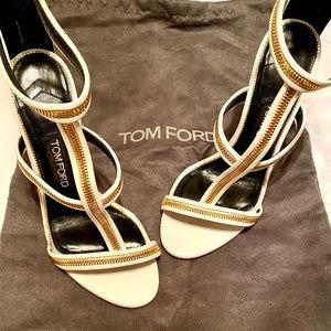 Tom Ford T Strap Heels